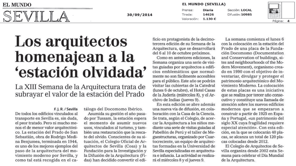 VIII Semana de la Arquitectura Sevilla
