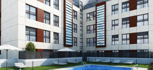 Proyecto de 23 viviendas llevado a cabo por Cue, Arquitectos y Abogados, en Sevilla.