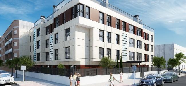 Se inician las obras del proyecto para la construcción de 23 viviendas en Sevilla, por CUE, Arquitectos y Abogados.