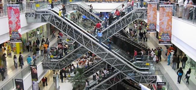 Los centros comerciales en auge